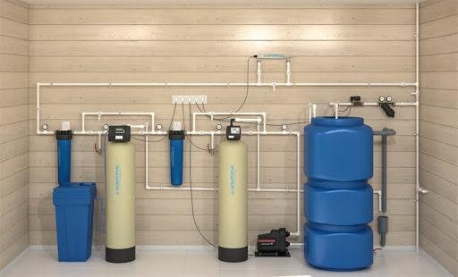 Монтаж системы очистки воды под ключ